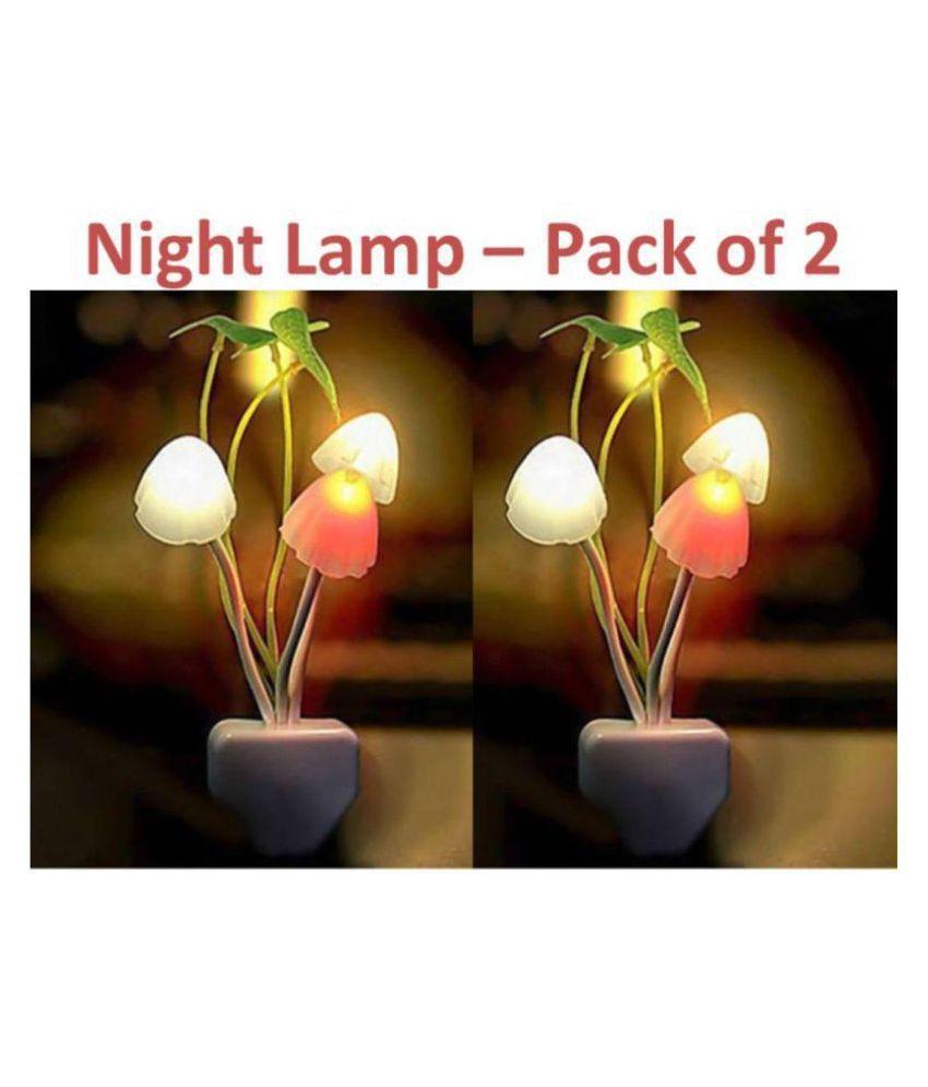 Earmark Night Lamp White - Pack of 2