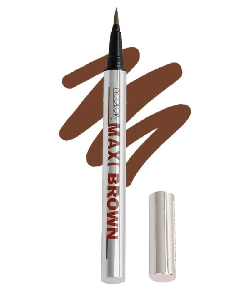 Incolor Maxi pen Eyeliner Shade Brown   2 gm