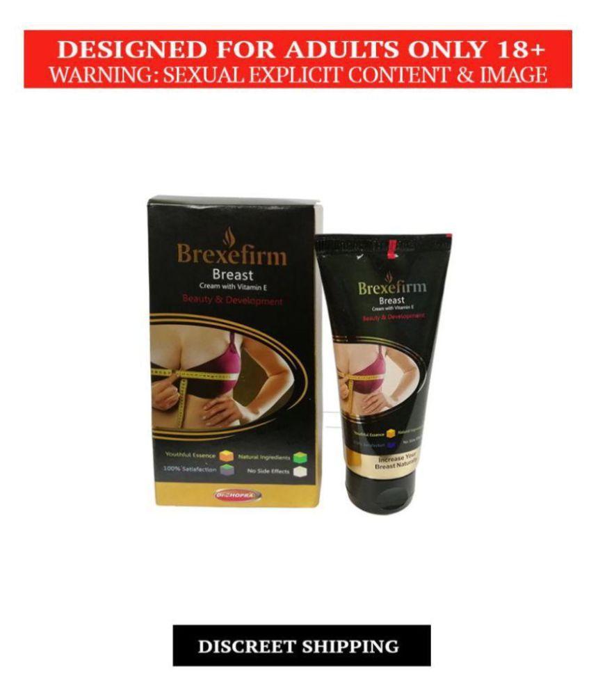 Herbal Brexefirm Cream [Breast Enlargement Cream] For Women, Pack of 60 gm, 100% Natural