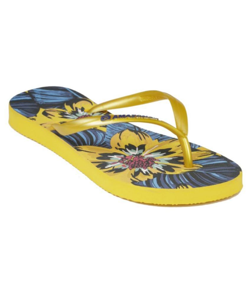 AMAZONAS Yellow Slippers