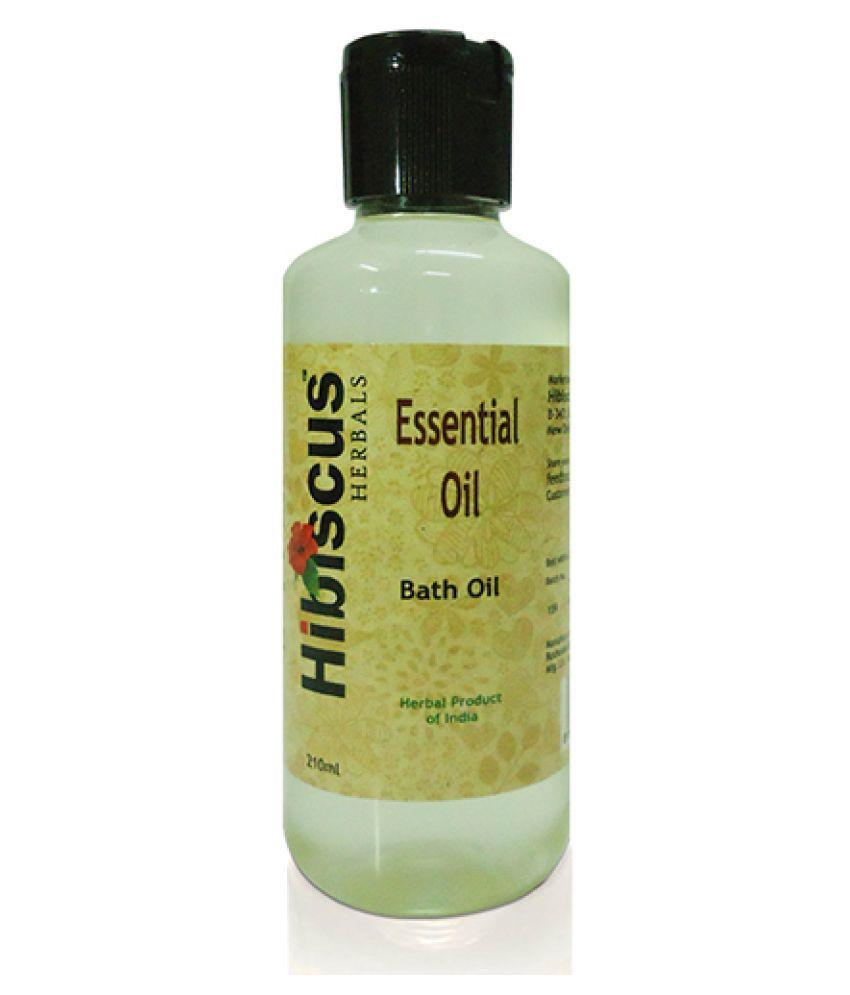 Hibiscus Herbals Bath Oil Essential Oil 210 mL