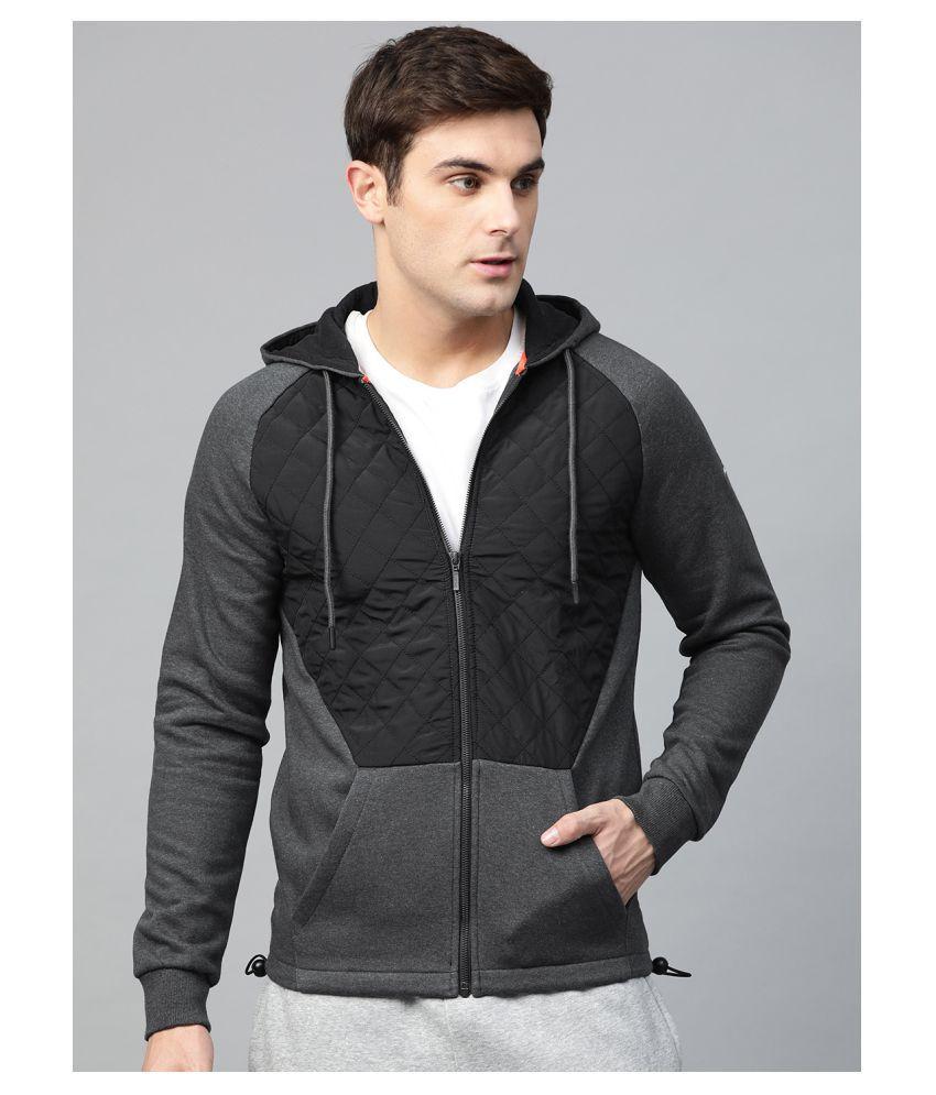 Alcis Black Polyester Jacket