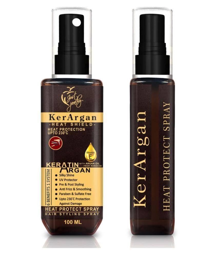 Just Peachy KerArgan Keratin + Argan Vitamin E Hair Styling Spray Hair Sprays 100 mL