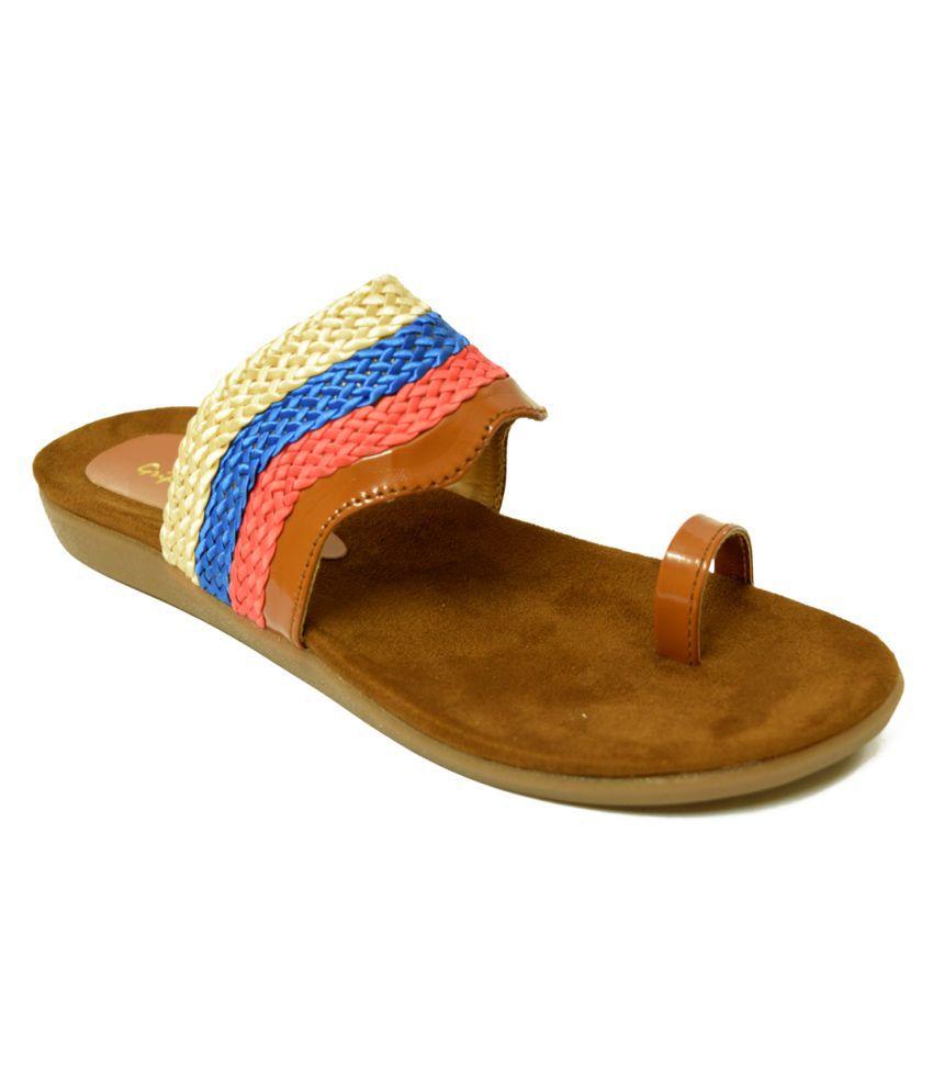 Shoe Cloud Brown Slippers