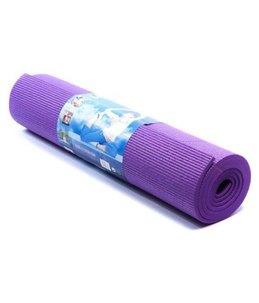 Bluebird  fashion Yoga Mats For Gym & Exercise (Purple)