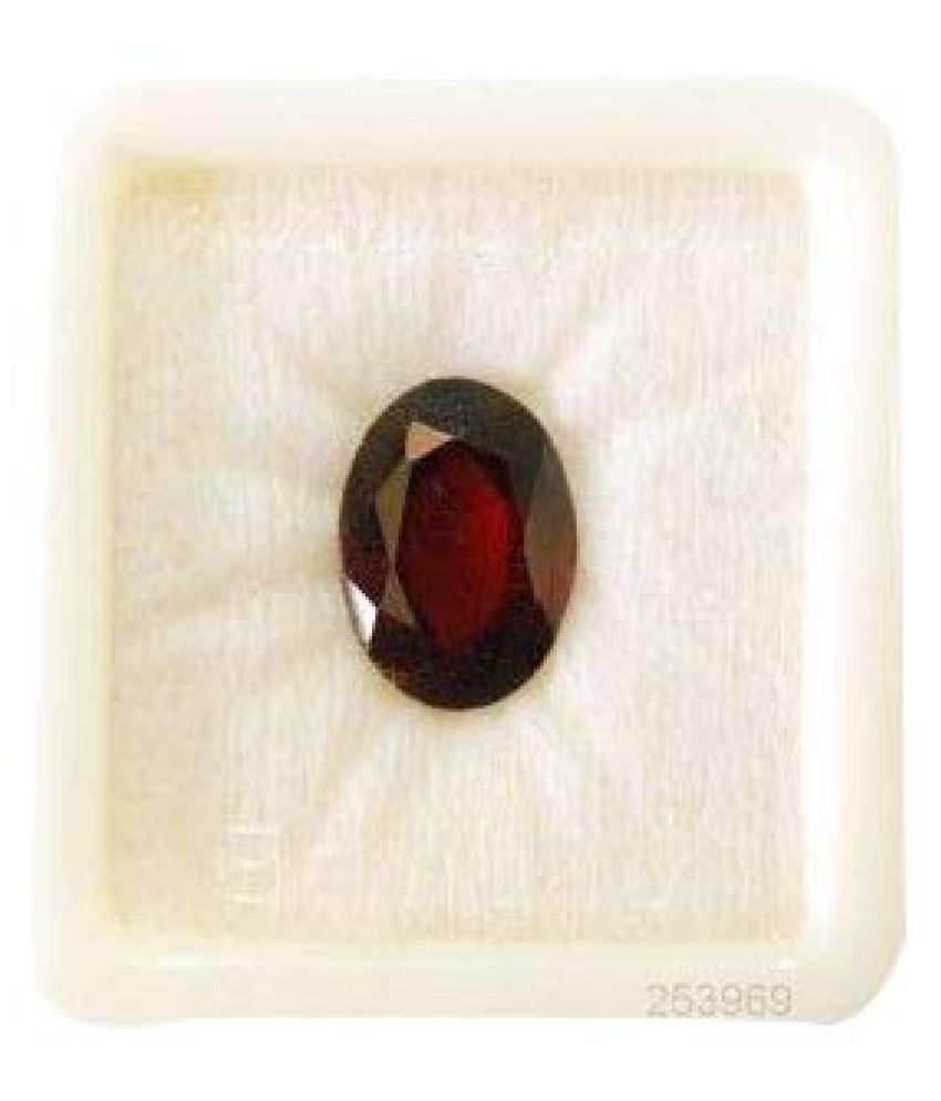 KANIKA GEMS 10 - 10.5 -Ratti Hallmarked Hessonite Garnet (Gomed)