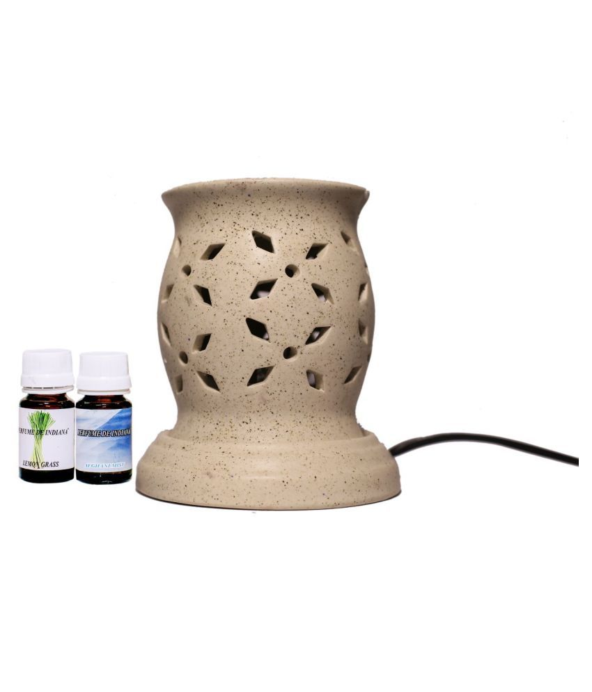 Pujya designs Ceramic Aroma Oils & Diffusers Set - Pack of 1