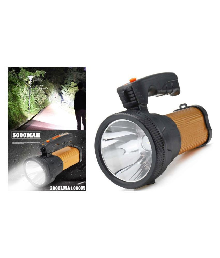 SM  3 Mode Portable1000Meter 40W Flashlight Torch Rechargeable Hand - Pack of 1