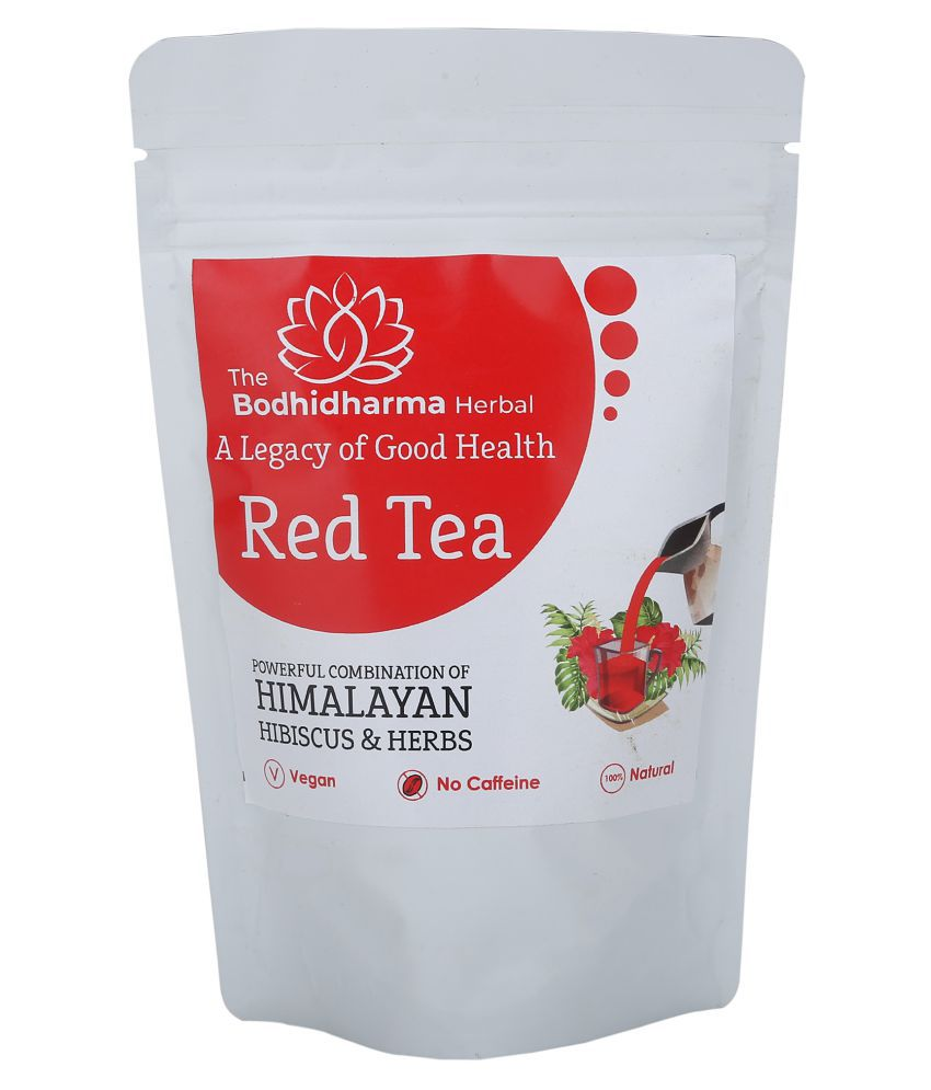 The Bodhidharma Herbal Hibiscus Tea Loose Leaf 250 gm
