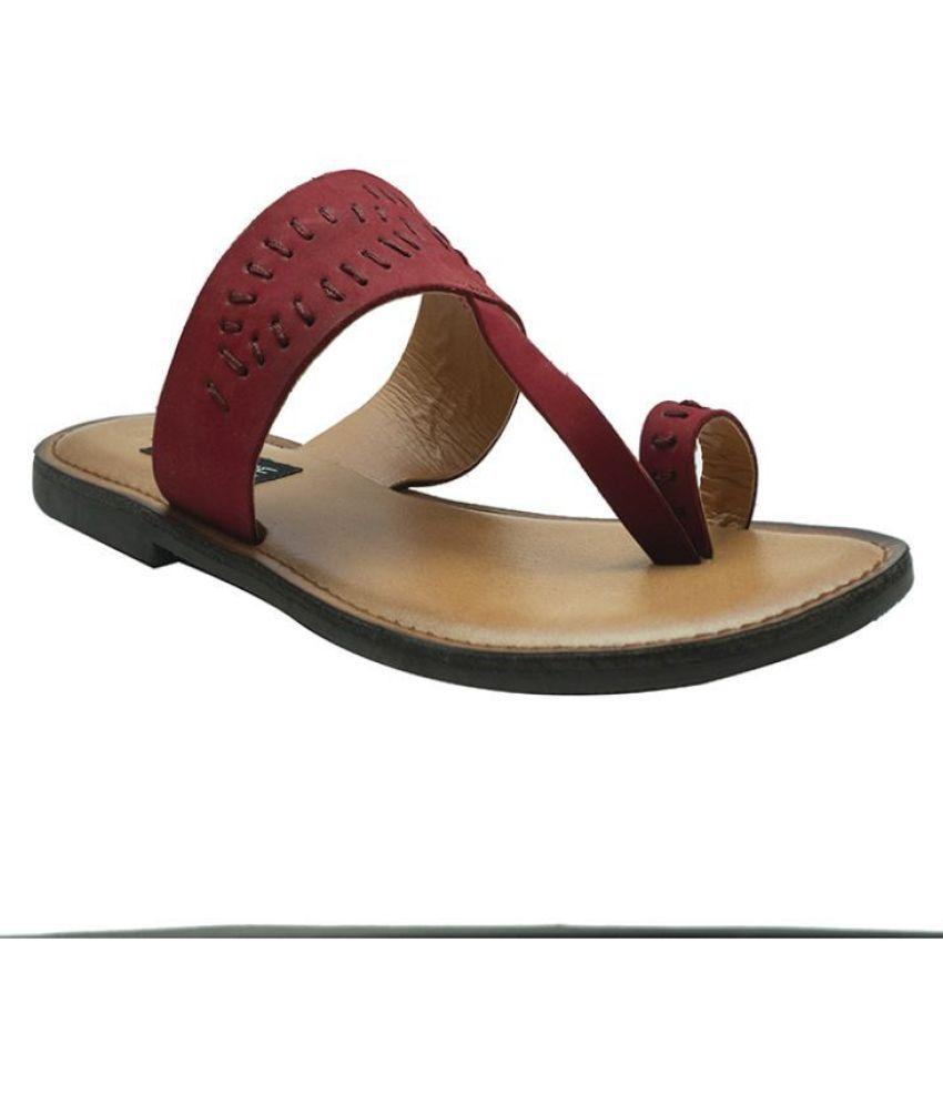 shoesme Red Slippers