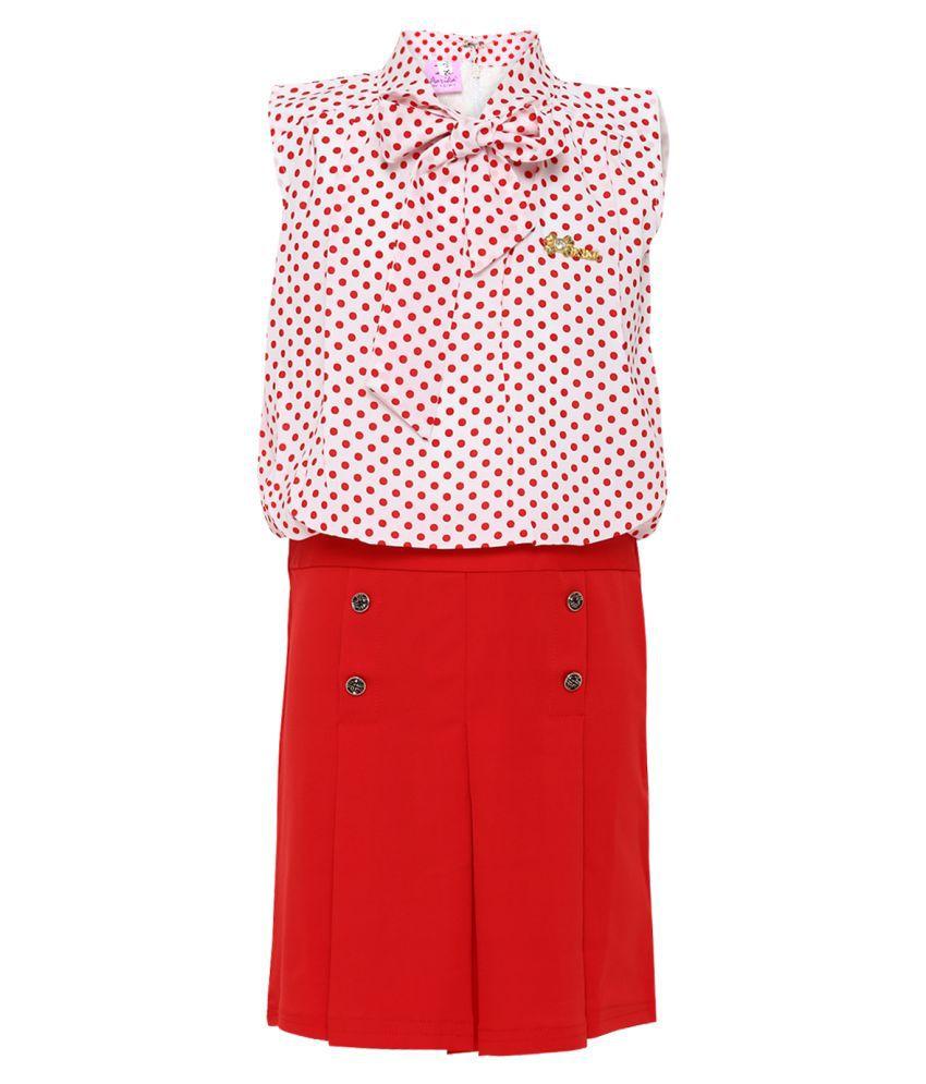 Aarika Net A-Line Midi Dress