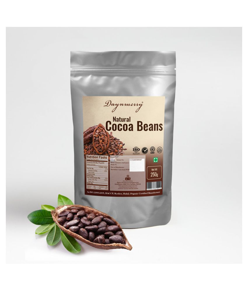 Daynmerry Roasted Cocoa Beans 250 gm