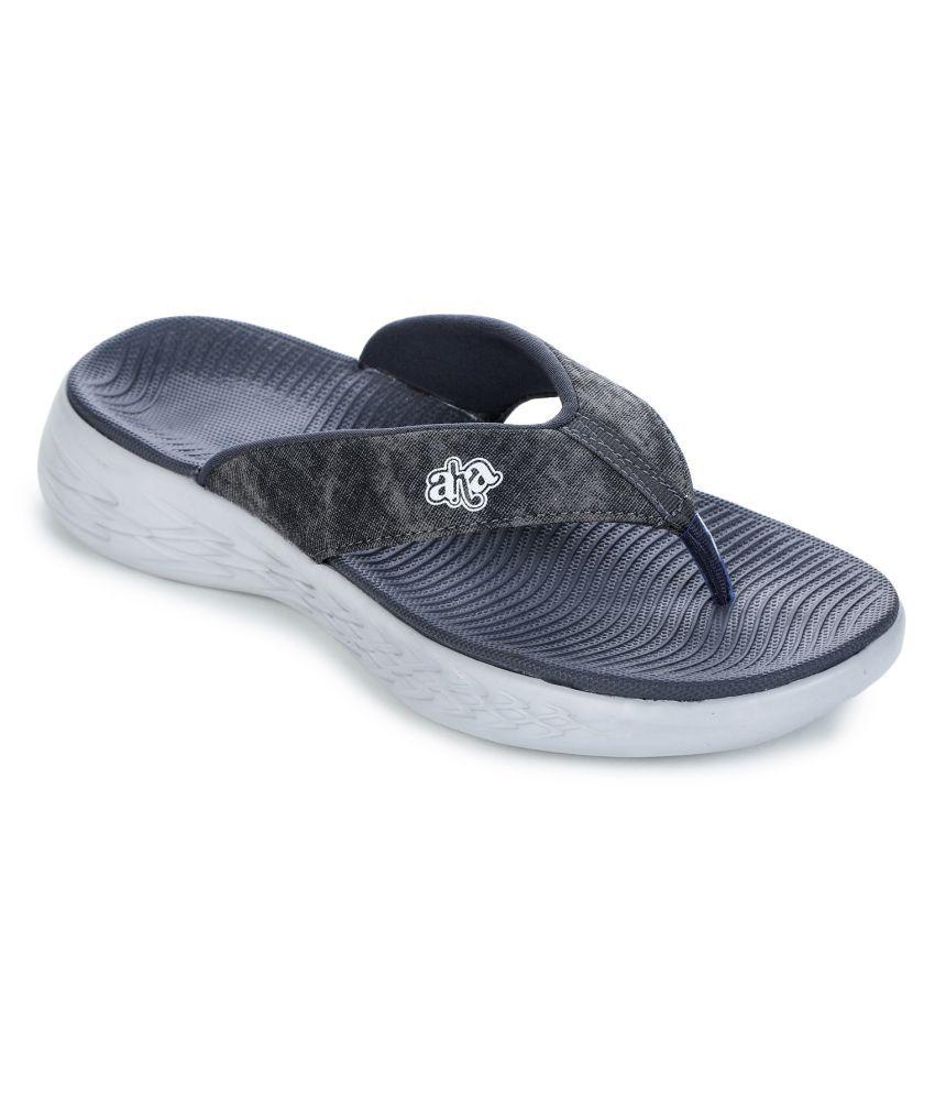 Liberty Gray Thong Flip Flop