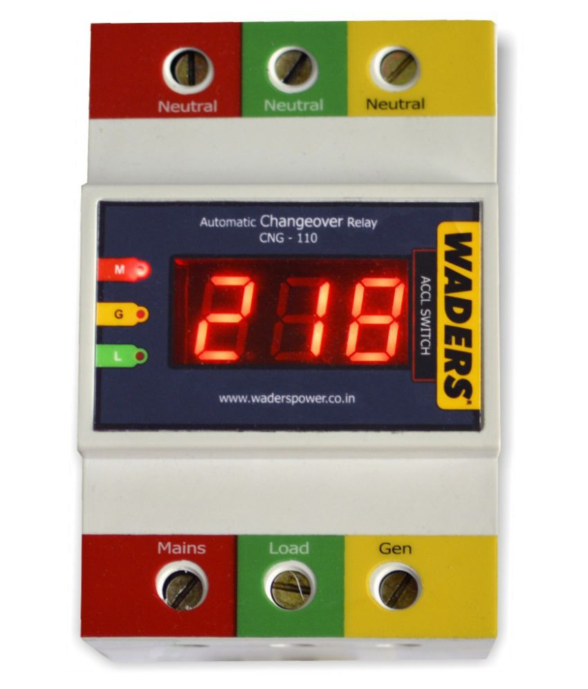 Waders Changeover Switch Two Pole 25 Amp