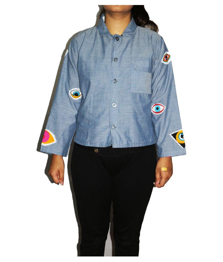 armaan khan designs Cotton Blue Jackets