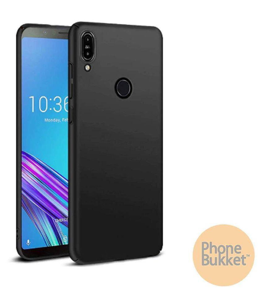 PhoneBukket Matte Finish Case Cover for Asus ZenFone Lite L1 -Red   Hard Back Ultra-Thin