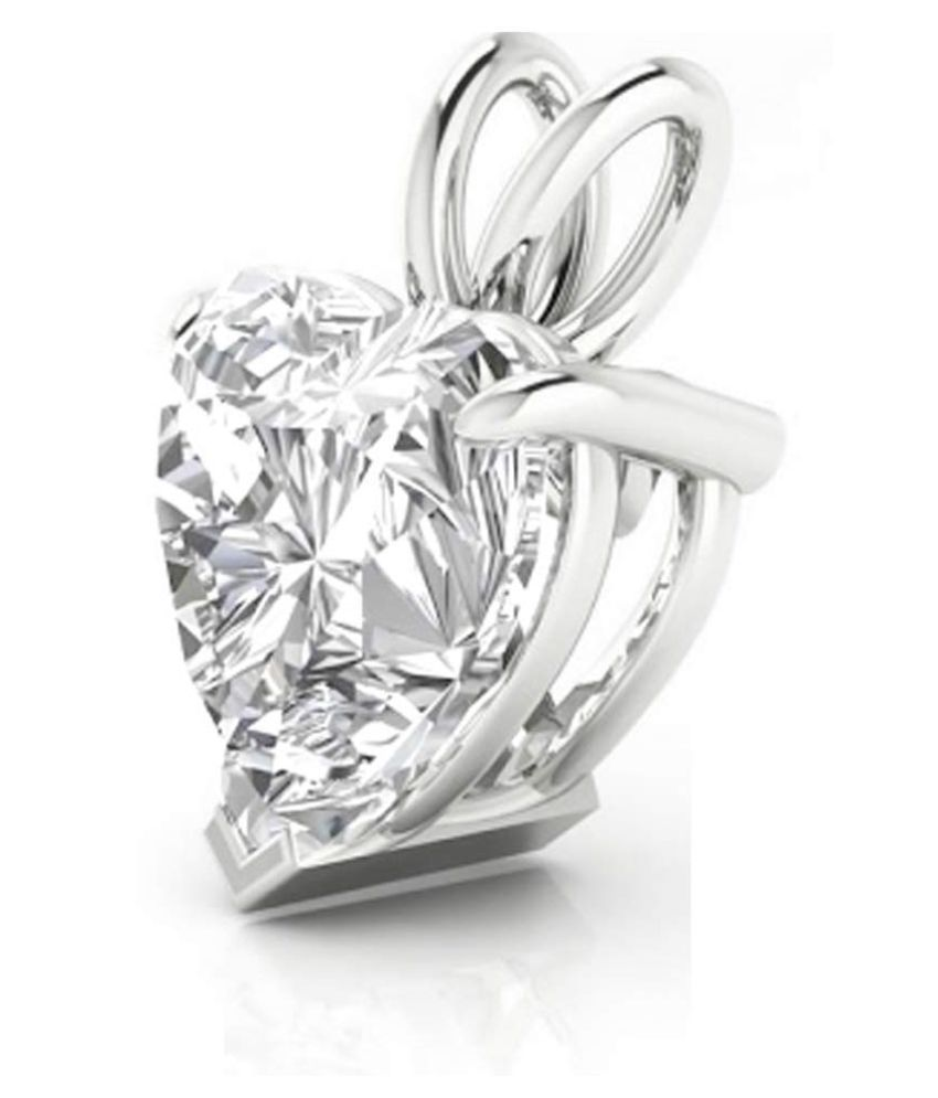 925 Silver heart Shaped Swarovski Crystal Pendant with Chain for Women Anniversary, Valentine day, Birthday, Christmas Gift pendant Necklace