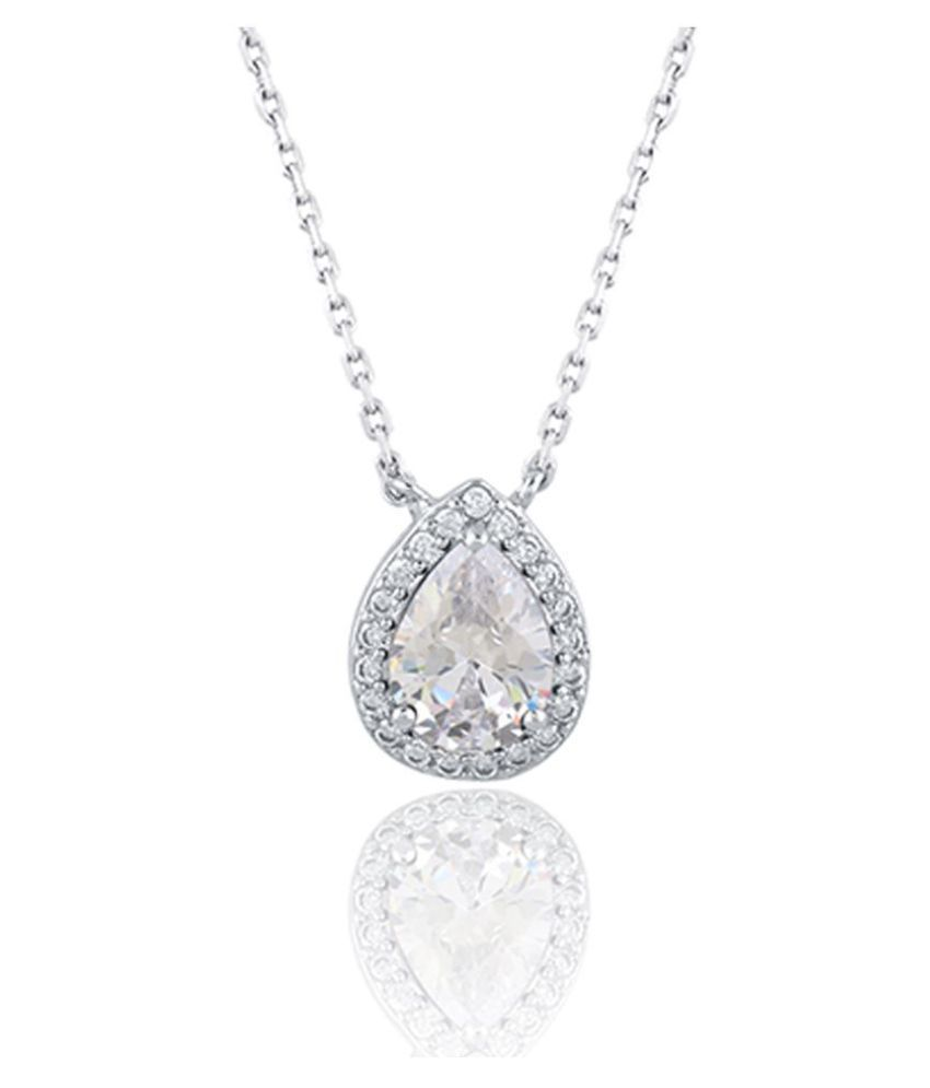 Sterling Silver, White CZ Stones With 925 Mark - TYC-727 1