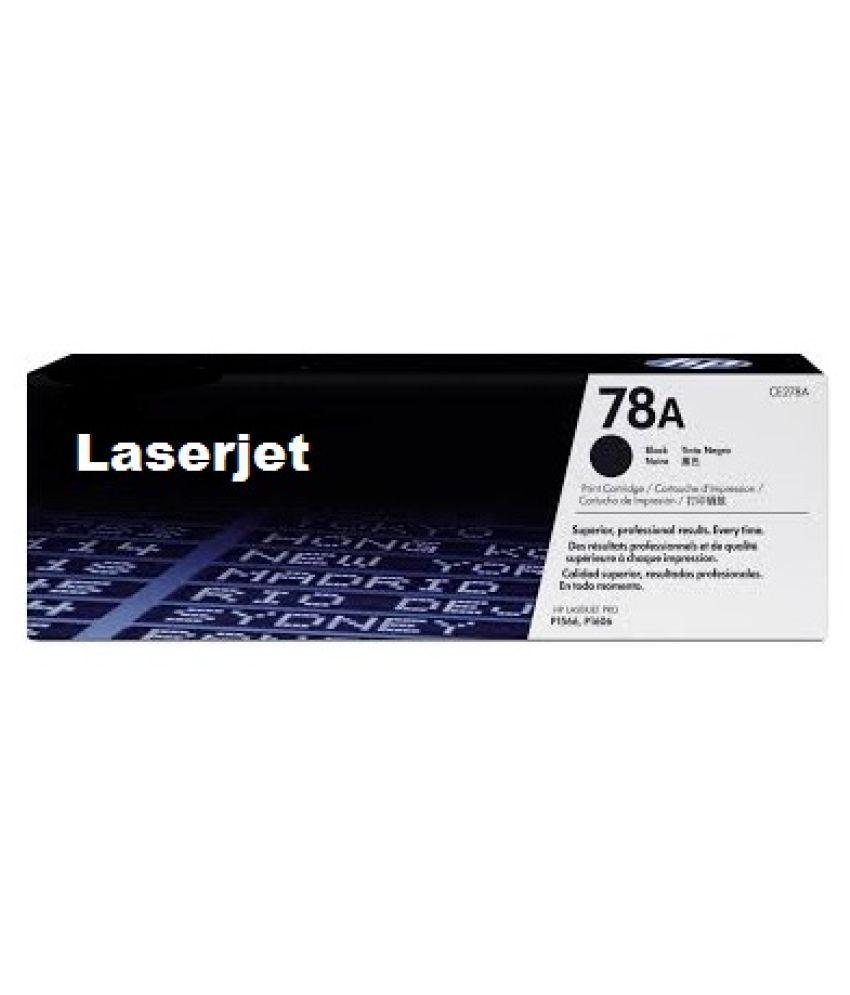 laserjet 78A TONER Black Single Cartridge for