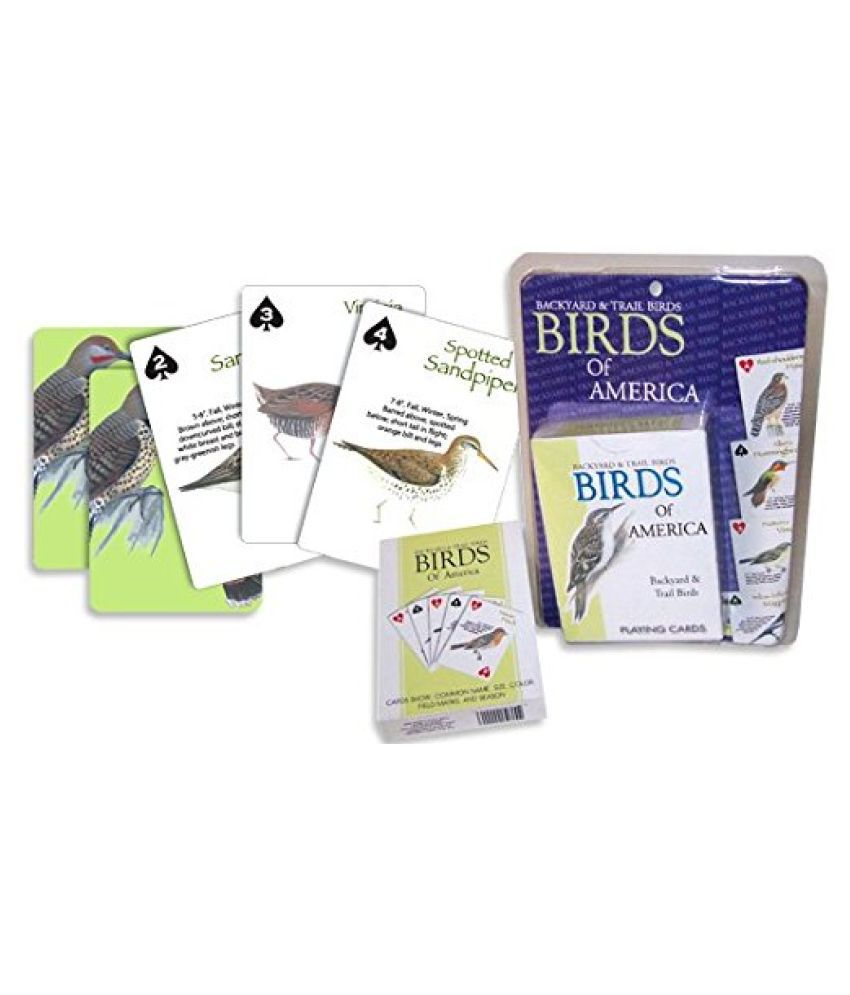 Pack of 2  Birds Playing Cards