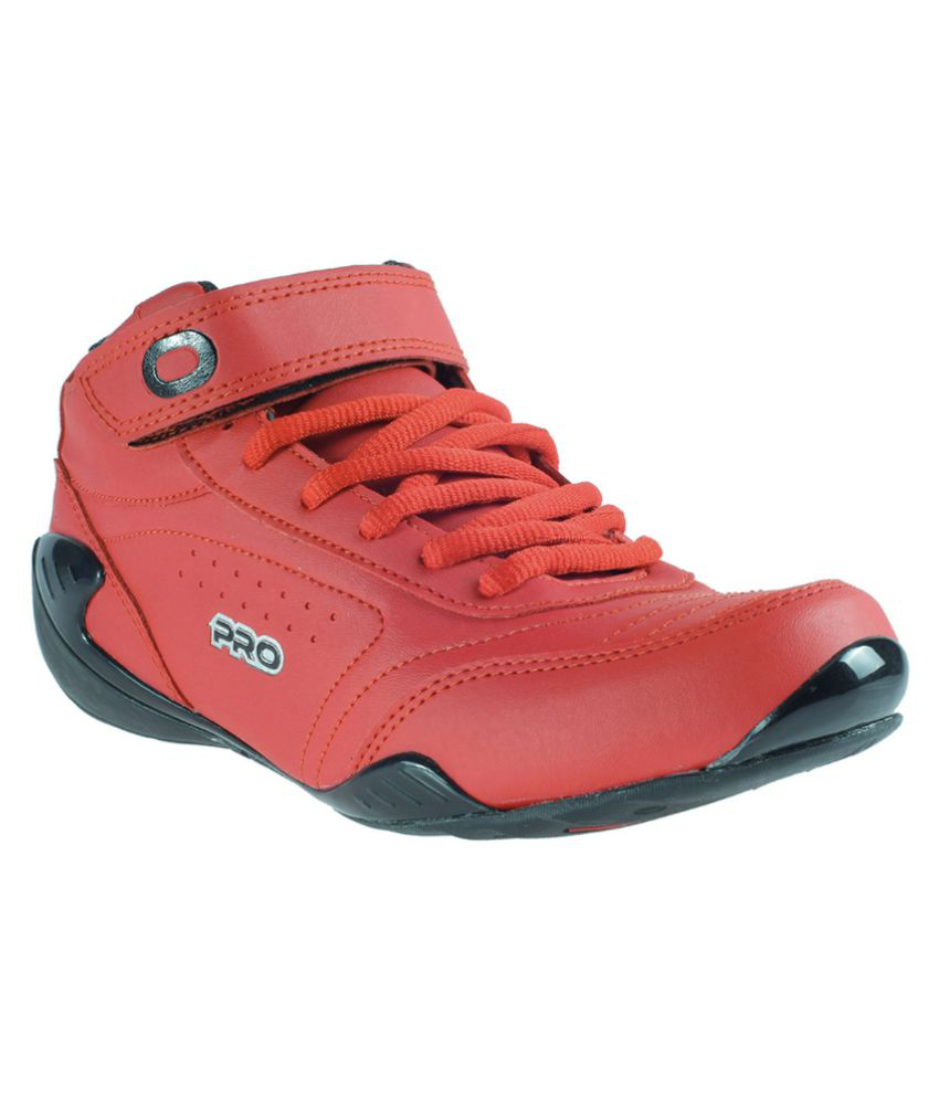 Khadim's Sneakers Red Casual Shoes
