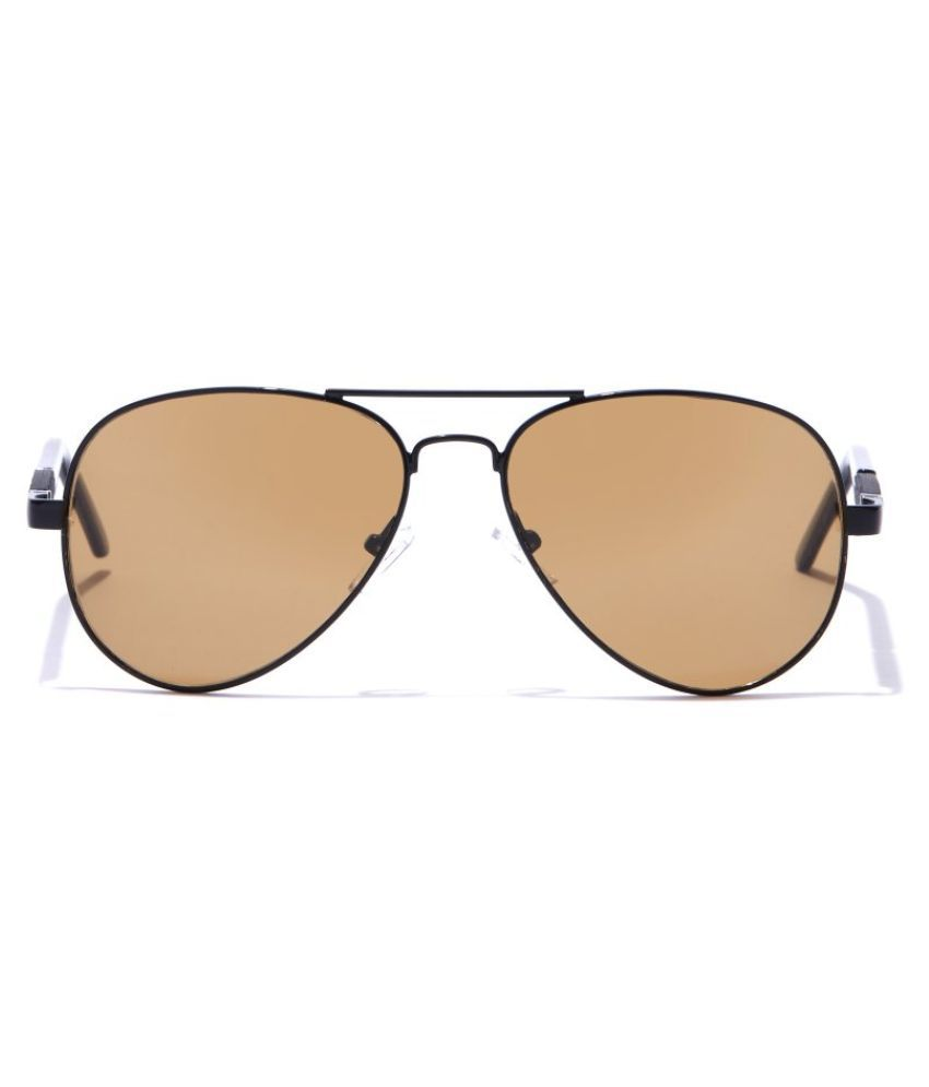 Coolwinks - Brown Pilot Sunglasses ( CWS15A5375 )