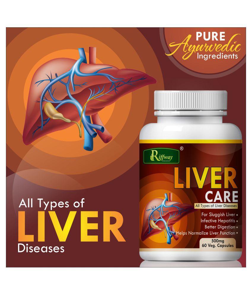 Inlazer Liver care of liver deseases  Capsule 60 no.s Pack Of 1