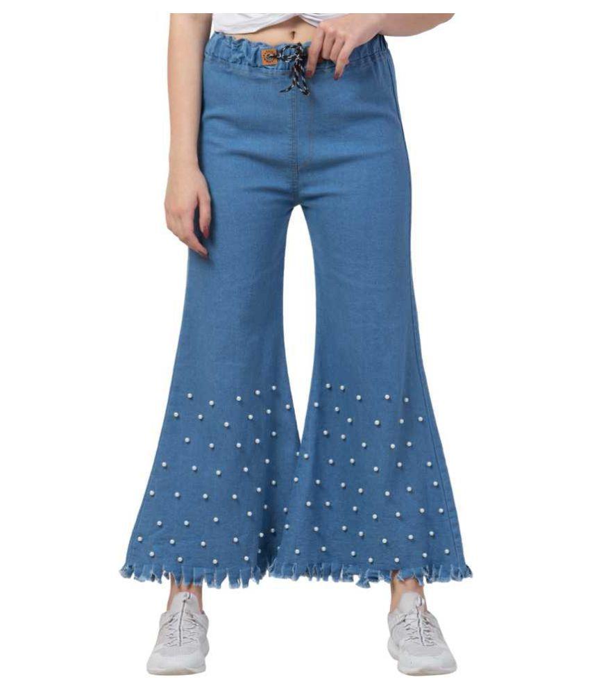 Ira Premium Collections Denim Lycra Jeans - Blue
