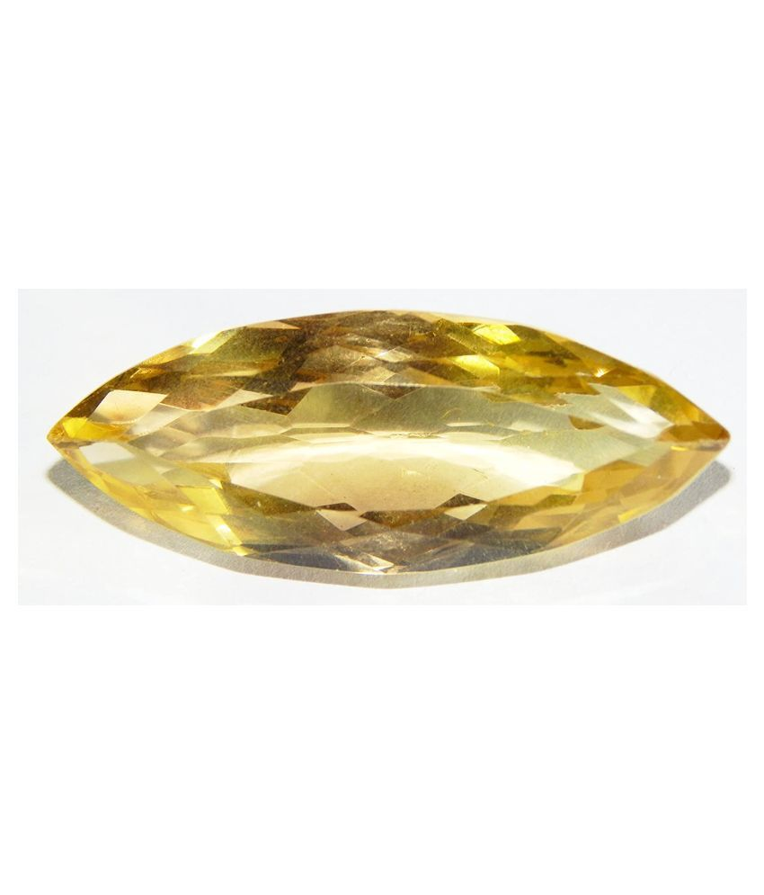 Urancia® High Quality Yellow Topaz AAA++ Quality Untreated Unheated Citrine natural 79.0Cts