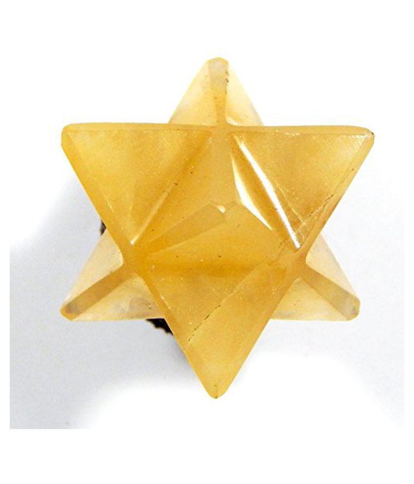 Urancia® Yellow Aventurine Merkaba 1Pcs