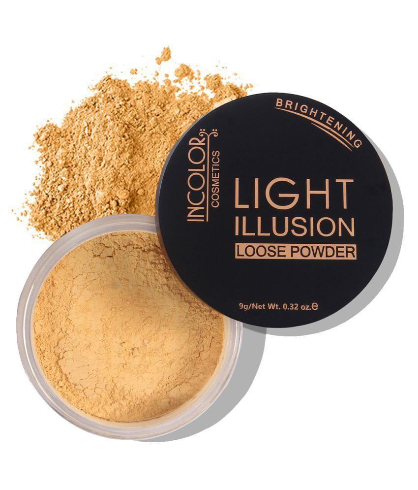 Incolor Primer Illusion Losse powder Shade 07 Camel Fair   9 gm