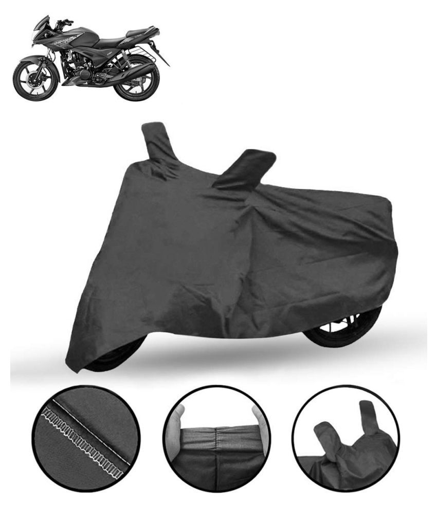 Lakshmina Enterprises Polyester Waterproof Two Wheeler/Bike Body Cover For Hero Ignitor