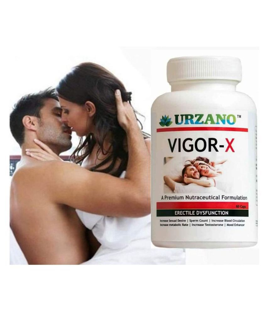 URZANO VIGOR-X AYURVEDIC SUPPLEMENT FOR MEN-NO SIDEEFFECT Capsule 60 no.s