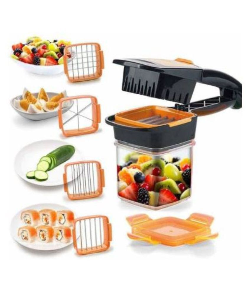 5 in 1 Nicer Dicer Chopper Stainless Steel Blades
