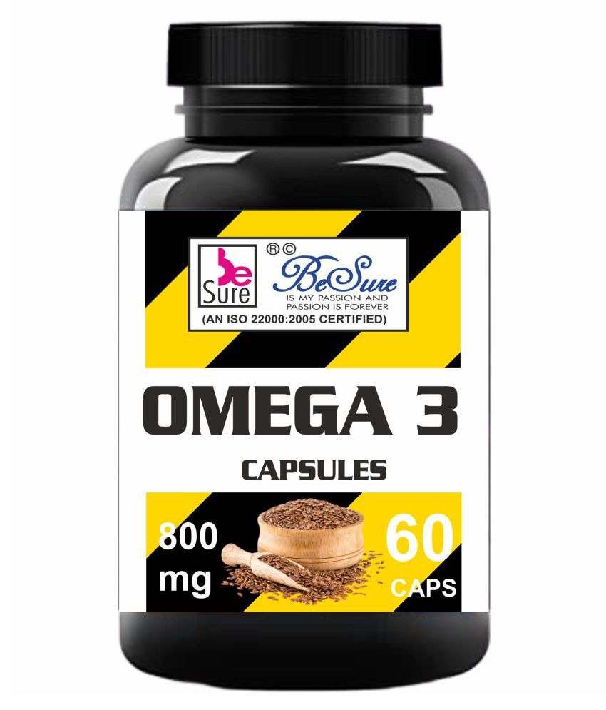 BeSure 100 % Pure Omega 3 Capsule 800 mg
