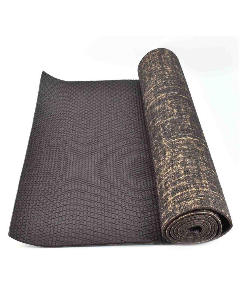Eco-friendly Anti-Slip Textured Yoga Mat, 8mm Thick : 6 ...
