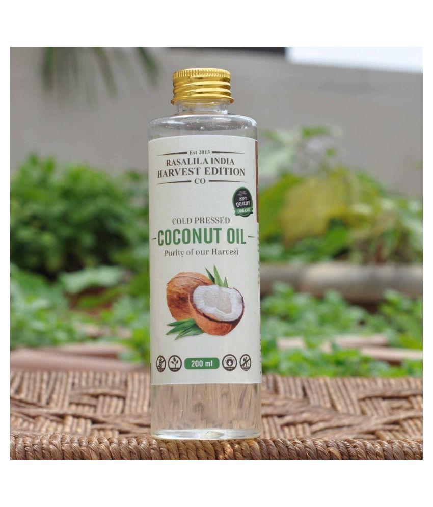 Rasalila Organic 100 % Coconut Oil 200 mL