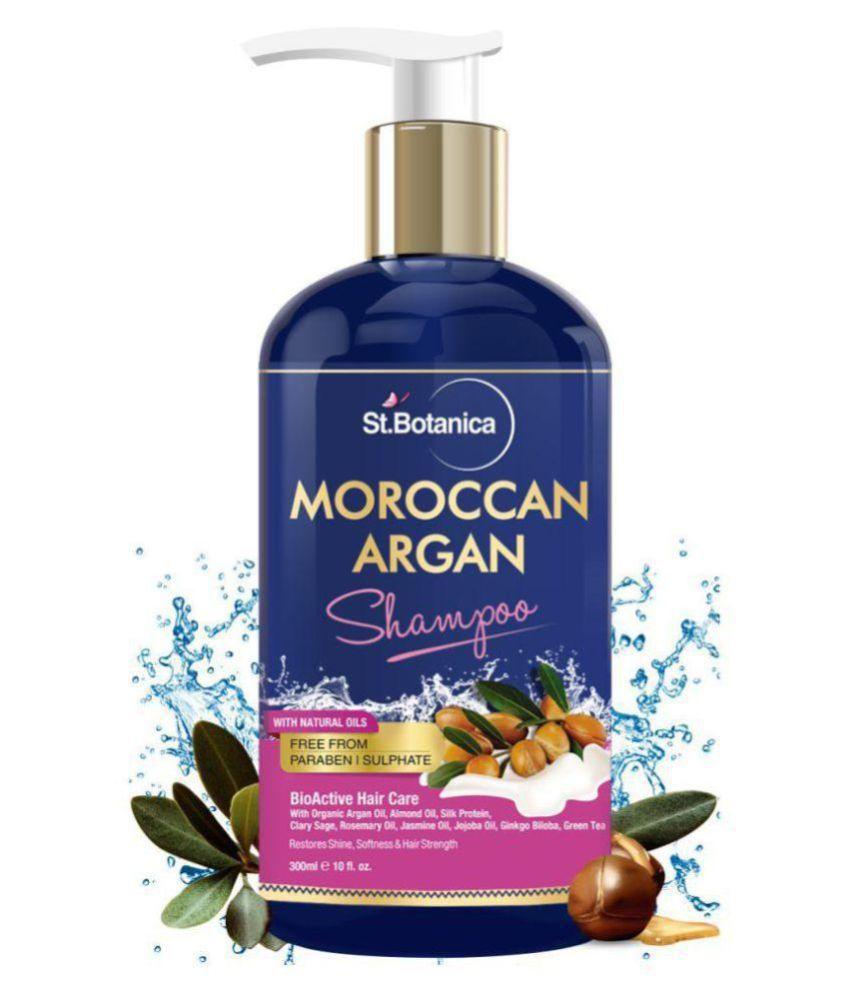 StBotanica Moroccan Argan Hair Shampoo 500 mL