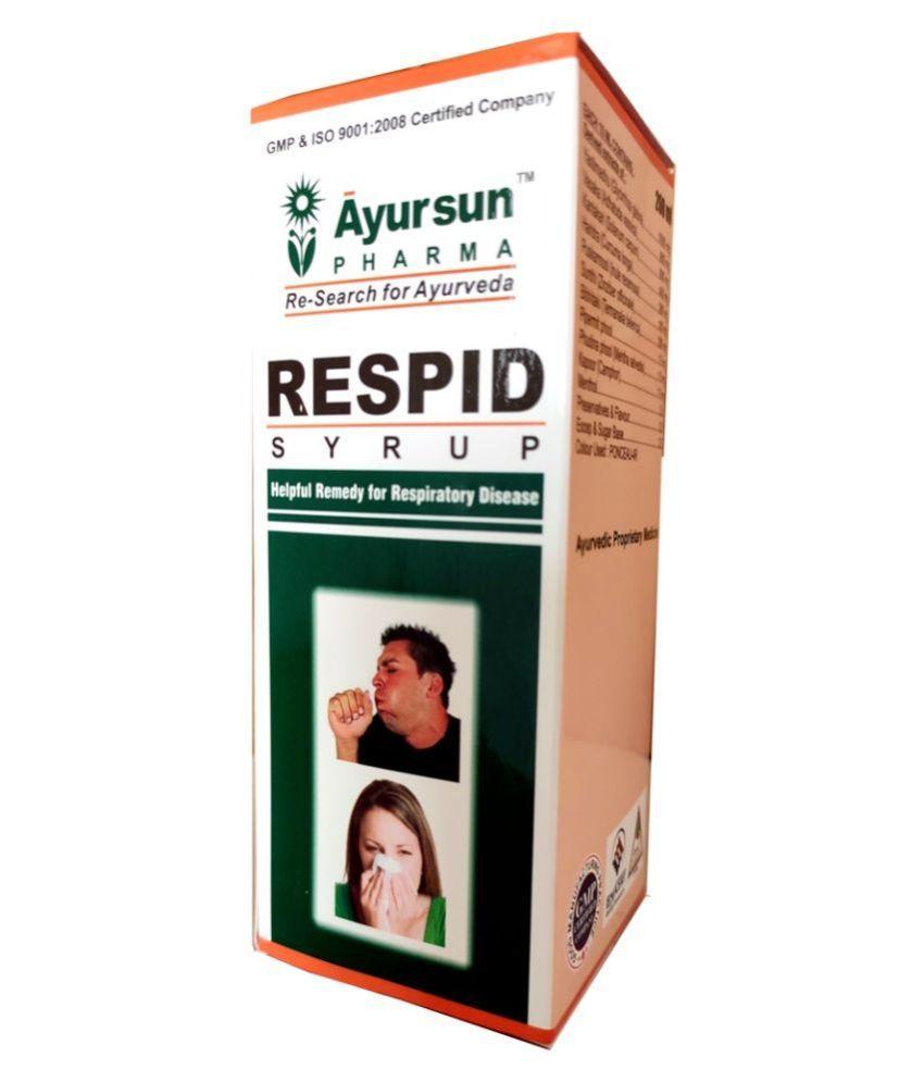 Ayursun Pharma RESPID SYRUP Liquid 100 ml Pack of 3