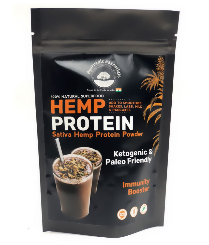 Ayurvedic-Essential Hemp Protein Powder 150 gm