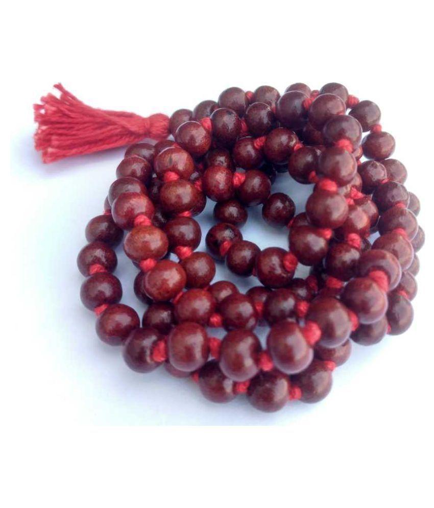 Astrodidi Laal Chandan Mala Red Sandalwood Rosary
