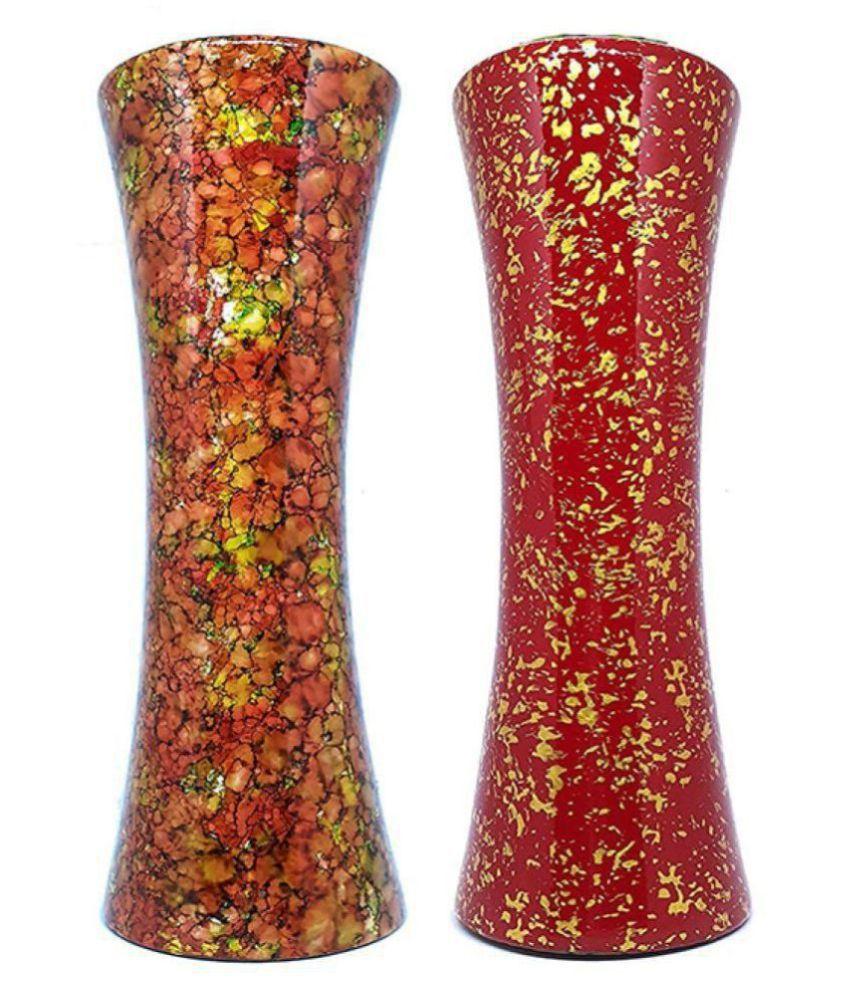Varda Wood Table Vase 30 Cms Pack Of 2 Buy Varda Wood Table Vase 30 Cms Pack Of 2 At Best Price In India On Snapdeal