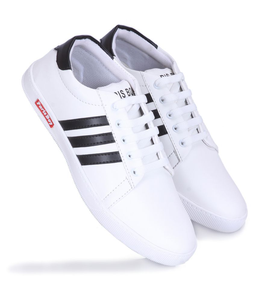 white casual shoes for boys