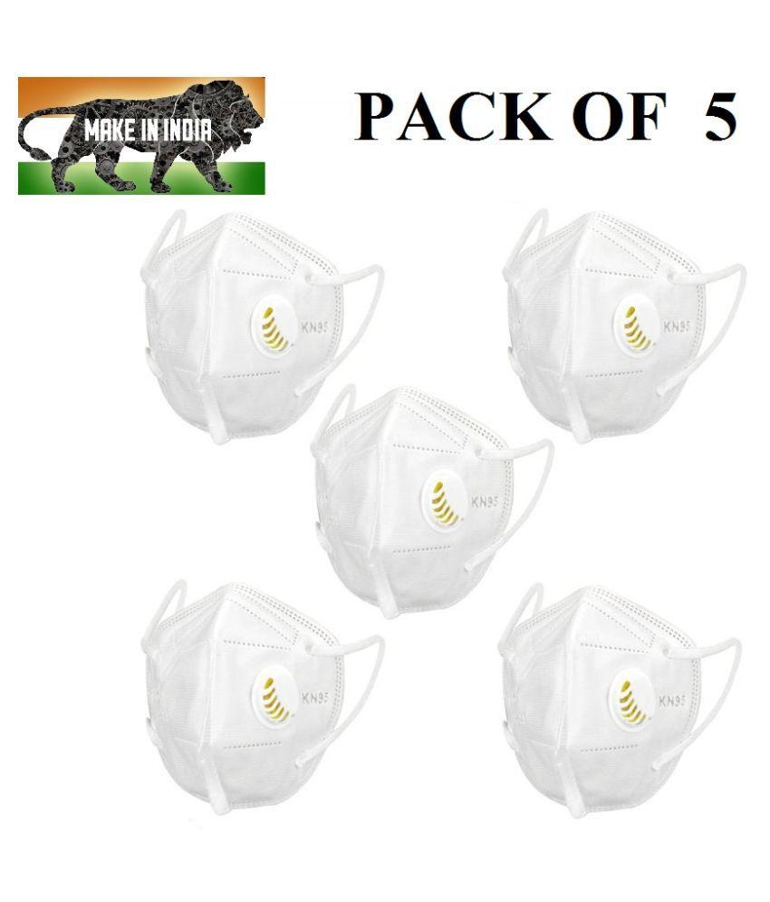 ShivVaani Respiratory Mask KN95 For All Respirators