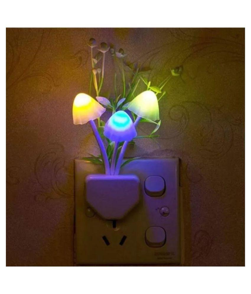 Anshu Night Lamp Multi - Pack of 1
