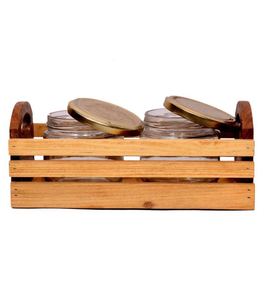 classicfurnishers Single Wood Storage Stool