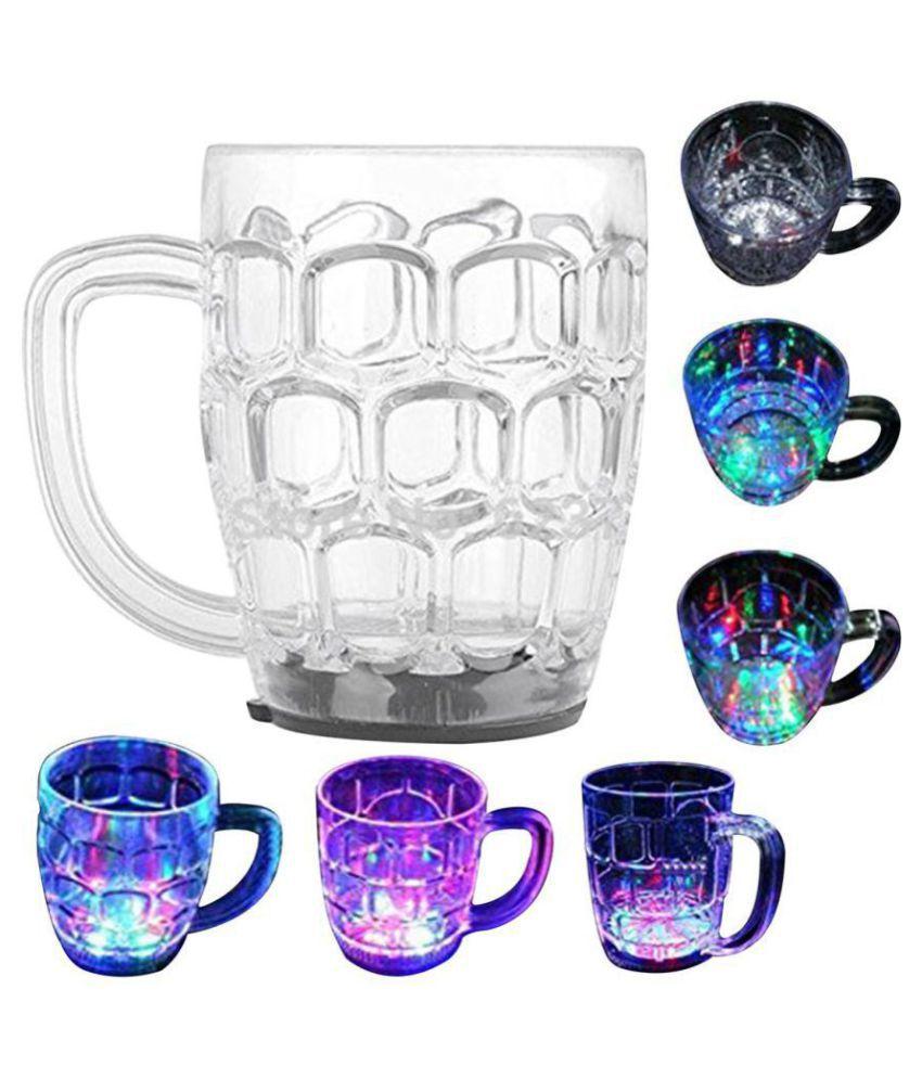 Blooms Mall Rainbow Magical Cup Acrylic Coffee Mug 1 Pcs 200 mL