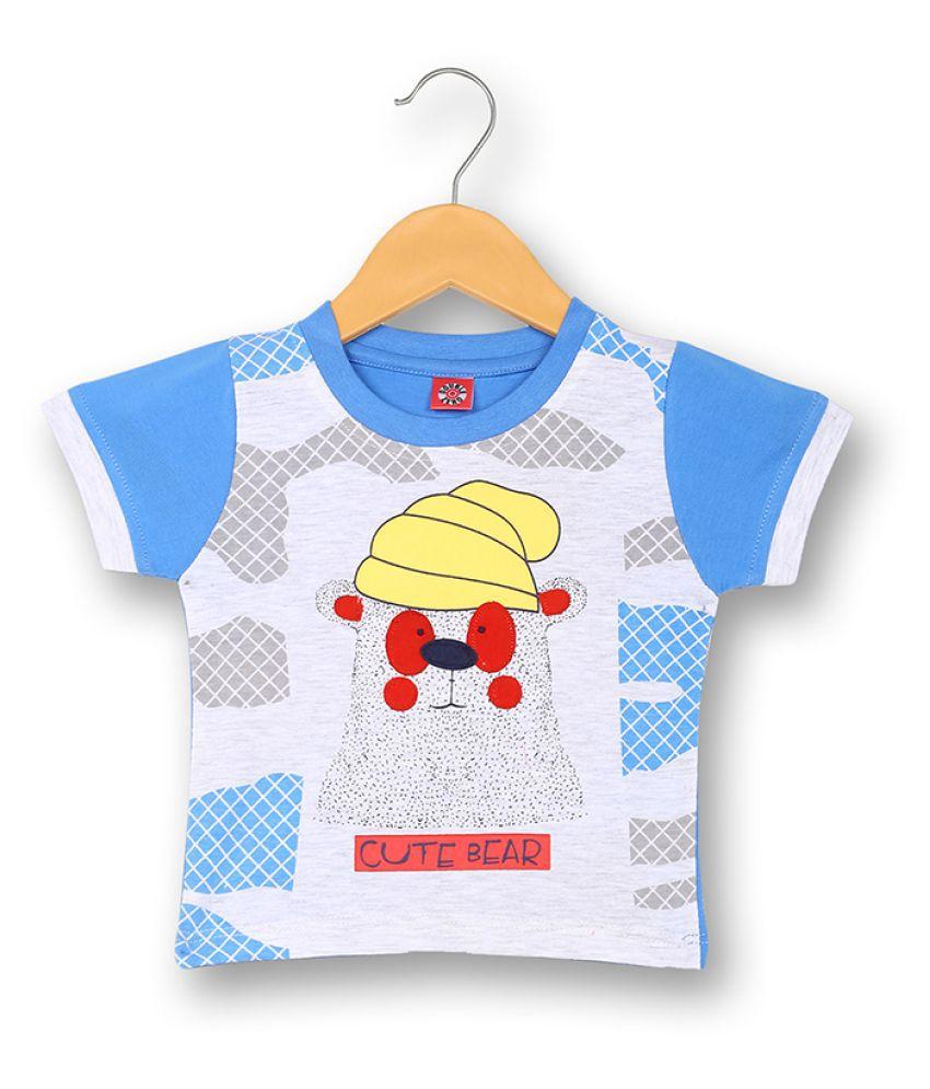 V2 Infant Boy Baba Suit Set (Royal Blue)
