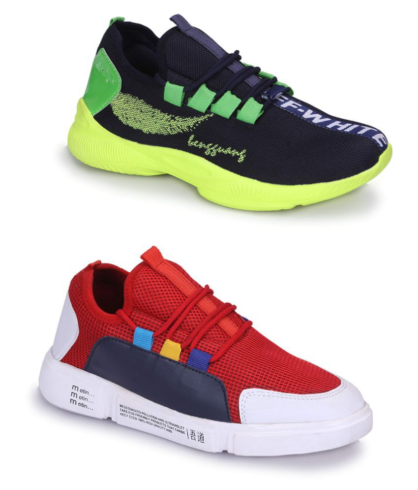 scoffe Multi Color Casual Shoe Combo