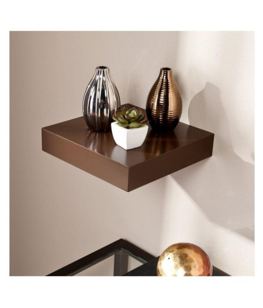 The New Look Floating Shelves Brown MDF - Pack of 1